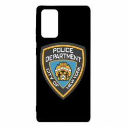 Чехол для Samsung Note 20 New York Police Department