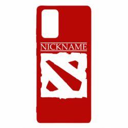 Чехол для Samsung Note 20 Nickname Dota