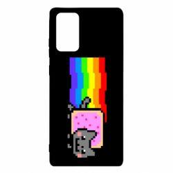 Чохол для Samsung Note 20 Nyan cat