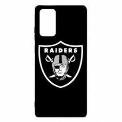 Чохол для Samsung Note 20 Oakland Raiders
