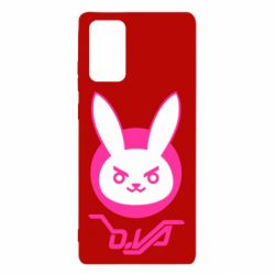 Чехол для Samsung Note 20 Overwatch dva rabbit