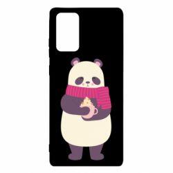 Чехол для Samsung Note 20 Panda and Cappuccino