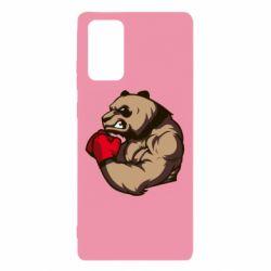 Чехол для Samsung Note 20 Panda Boxing