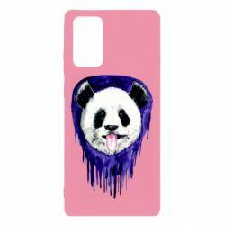 Чехол для Samsung Note 20 Panda on a watercolor stain