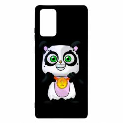 Чехол для Samsung Note 20 Panda with a medal on his chest