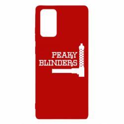 Чохол для Samsung Note 20 Peaky Blinders and weapon