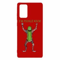 Чохол для Samsung Note 20 Pickle Rick