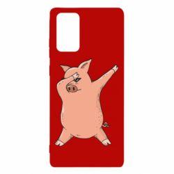 Чохол для Samsung Note 20 Pig dab