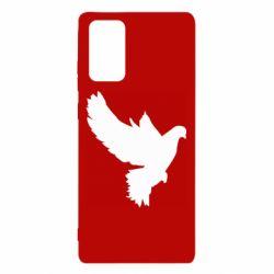 Чехол для Samsung Note 20 Pigeon silhouette