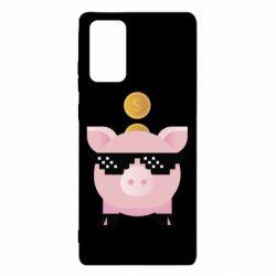 Чохол для Samsung Note 20 Piggy bank