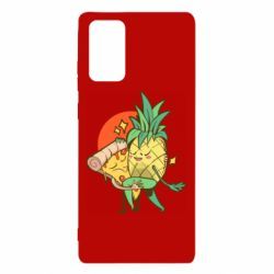 Чехол для Samsung Note 20 Pineapple and Pizza
