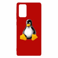 Чохол для Samsung Note 20 Пингвин Linux