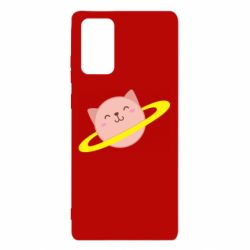 Чехол для Samsung Note 20 Planet Cat