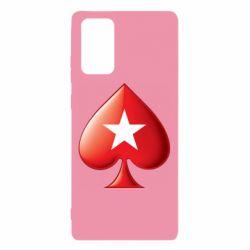 Чохол для Samsung Note 20 Poker Stars 3D Logo