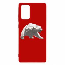 Чохол для Samsung Note 20 Полярний ведмідь