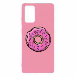 Чехол для Samsung Note 20 Пончик Гомера