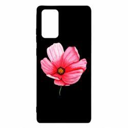 Чехол для Samsung Note 20 Poppy flower