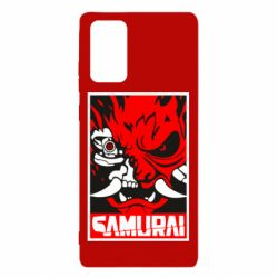 Чохол для Samsung Note 20 Poster samurai Cyberpunk