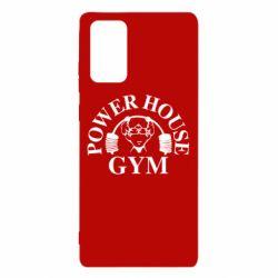 Чехол для Samsung Note 20 Power House Gym
