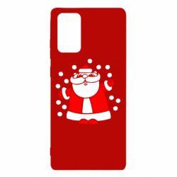 Чохол для Samsung Note 20 Прикольний дід мороз