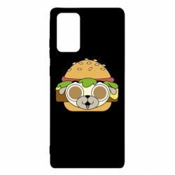 Чохол для Samsung Note 20 Pug Hamburger