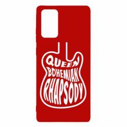 Чохол для Samsung Note 20 Queen Bohemian Rhapsody