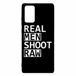 Чохол для Samsung Note 20 Real Men Shoot RAW