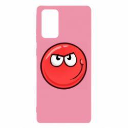 Чехол для Samsung Note 20 Red Ball game