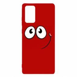 Чохол для Samsung Note 20 Red ball smile