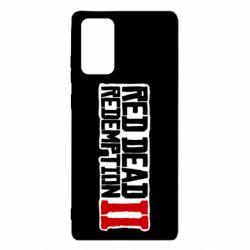 Чохол для Samsung Note 20 Red Dead Redemption logo