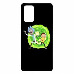 Чохол для Samsung Note 20 Rick and Morty art