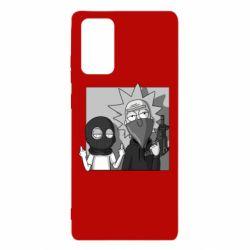 Чехол для Samsung Note 20 Rick and Morty Bandits