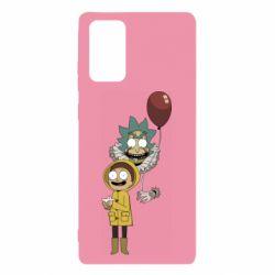 Чехол для Samsung Note 20 Rick and Morty: It 2