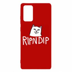 Чохол для Samsung Note 20 Ripndip and cat