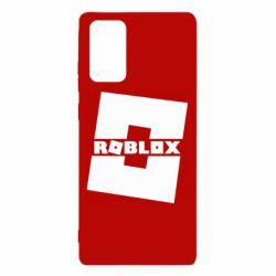 Чехол для Samsung Note 20 Roblox game
