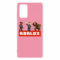 Чехол для Samsung Note 20 Roblox Heroes