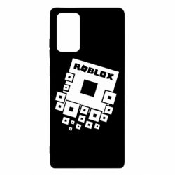 Чехол для Samsung Note 20 Roblox logos