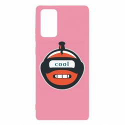 Чохол для Samsung Note 20 Robot with the word cool