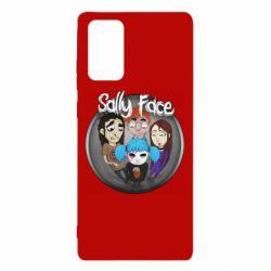 Чехол для Samsung Note 20 Sally face soundtrack