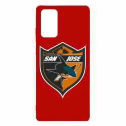 Чохол для Samsung Note 20 San Jose Sharks