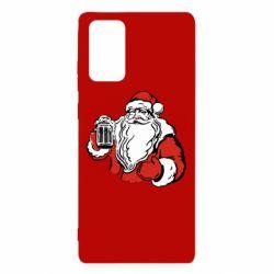 Чехол для Samsung Note 20 Santa Claus with beer