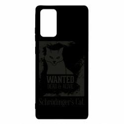Чохол для Samsung Note 20 Schrödinger's cat is wanted