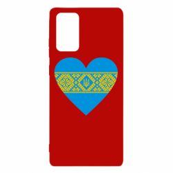 Чехол для Samsung Note 20 Серце України