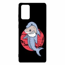 Чехол для Samsung Note 20 Shark or dolphin