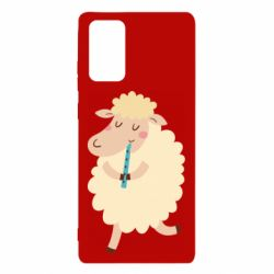 Чехол для Samsung Note 20 Sheep with flute