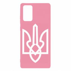Чехол для Samsung Note 20 Simple coat of arms with sharp corners