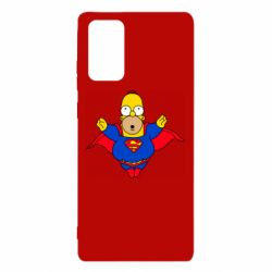 Чехол для Samsung Note 20 Simpson superman