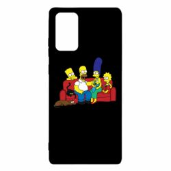 Чехол для Samsung Note 20 Simpsons At Home