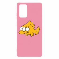 Чехол для Samsung Note 20 Simpsons three eyed fish