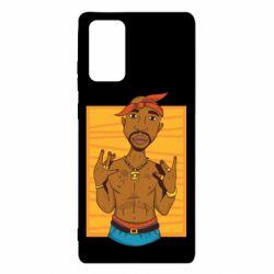 Чохол для Samsung Note 20 Singer Tupac Shakur